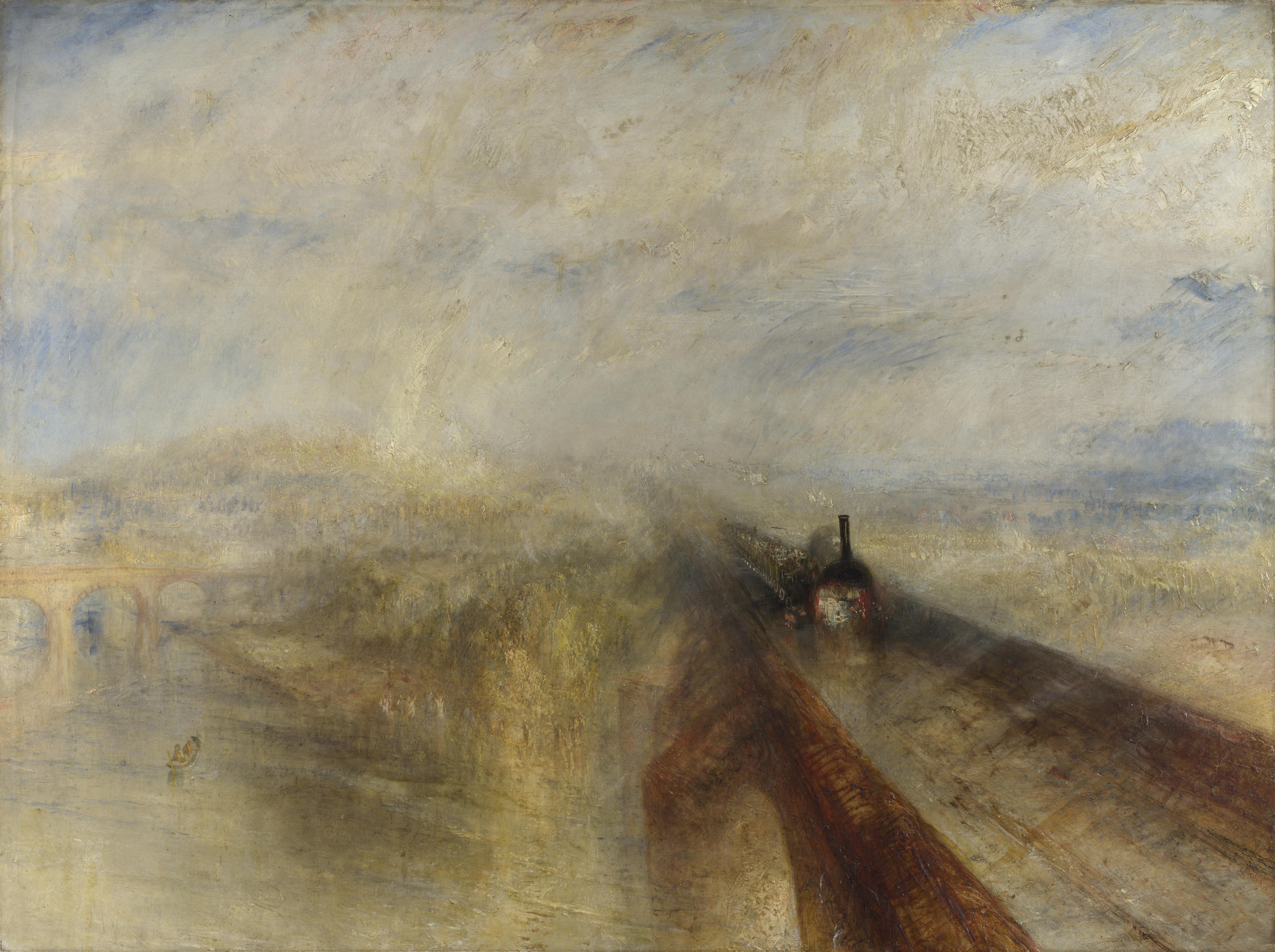 """Turner, """"Pluie, vapeur et vitesse"""""""